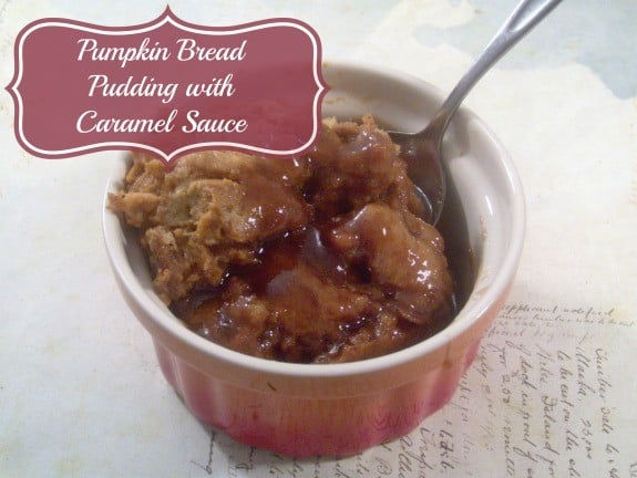 pumpkin-bread-pudding-caramel-sauce