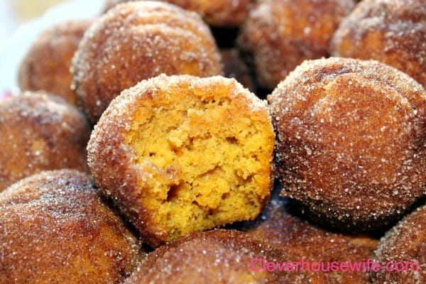 pumpkin poppers from clever housewife