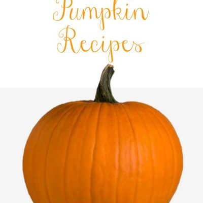 Happy Fall, Y'all!  Pumpkin Recipes to delight your tastebuds!