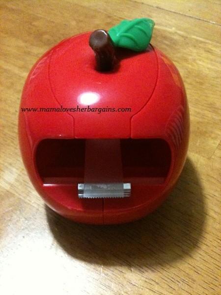 staples apple tape dispenser