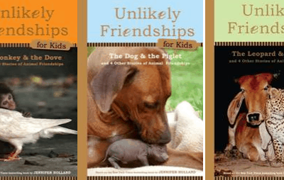 Unlikely Friendships for Kids by Jennifer Holland