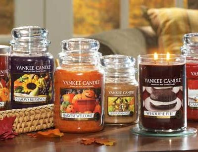 New fall fragrances from Yankee Candle (Giveaway 2 winners)
