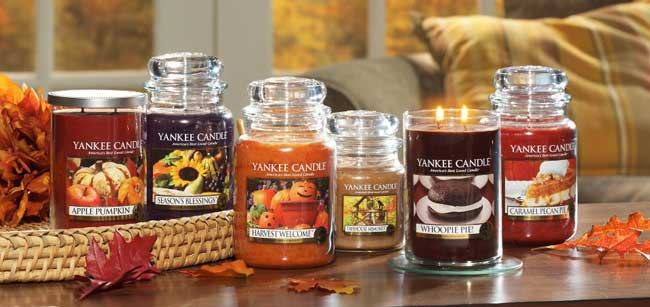Image result for fall candles