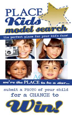 childrens place kids model search