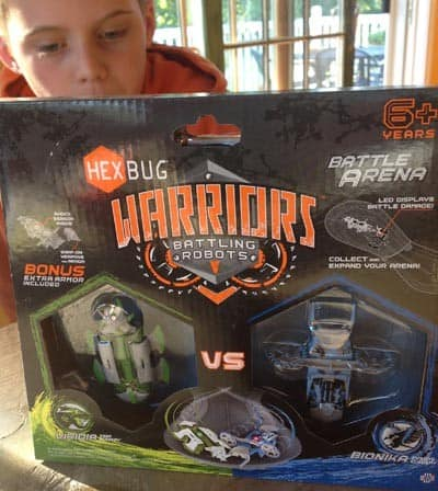 hexbugs warriors battle set holiday gift guide
