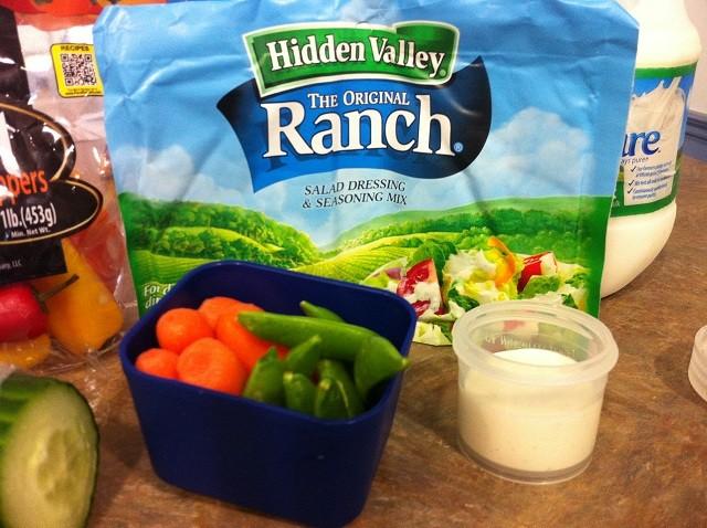 hidden valley ranch lunch break for kids
