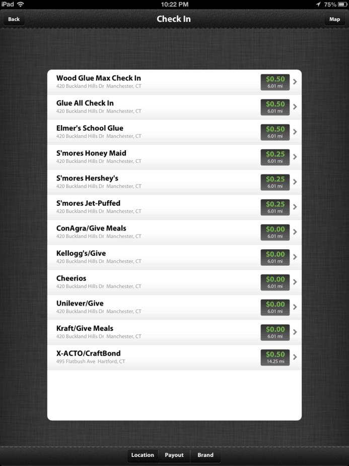 jingit screenshot checkin options