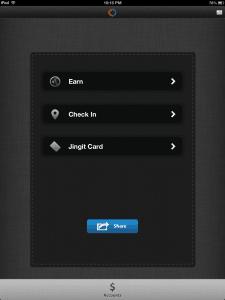 jingit screenshot earn options