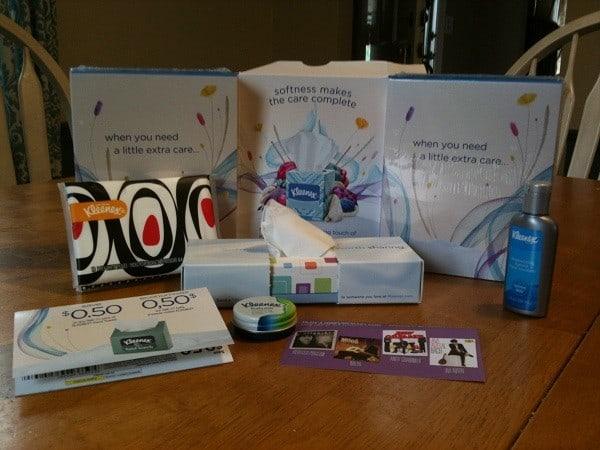 kleenex care kit