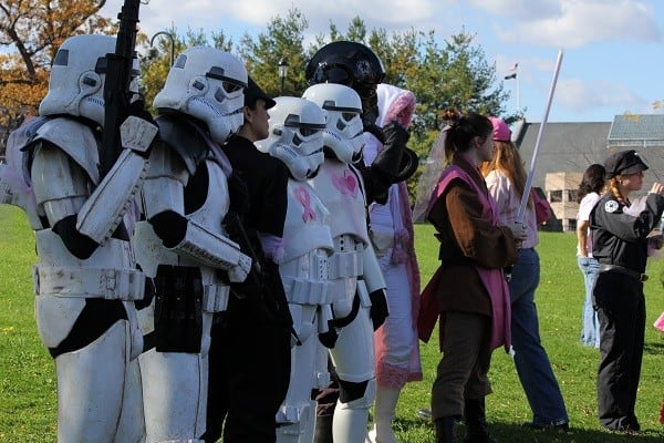 making strides star wars