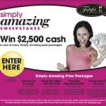 tasteful selections simply amazing sweepstakes