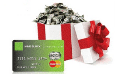 Holiday spending help with H&R Block's Emerald Advance ($300 Mastercard Gift Card Giveaway) #HRBlockLoan