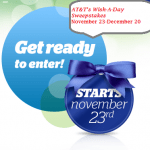 at&t wish-a-day sweepstakes logo