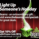 beamz holiday save 10 percent