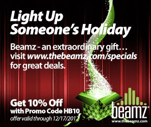 Beamz is a wonderful gift for any music lover in your life! FOUR special offers inside!