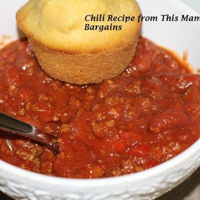 My favorite chili recipe- in the crock pot!