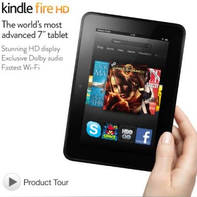 Kindle Fire HD Giveaway #HGG