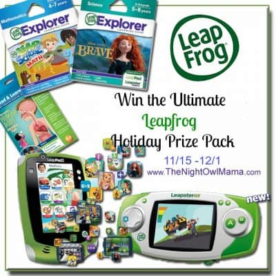 Bloggers Wanted: Leapfrog Ultimate Prize Pack Giveaway