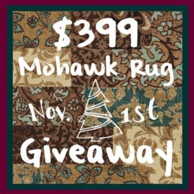 $399 Mohawk Rug Giveaway