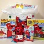 Clifford the Big Red Dog Happy Birthday Prize Pack