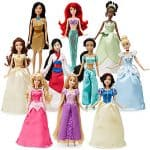 disney princess 10 doll set disney store