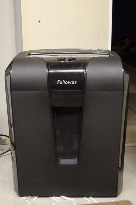 Fellowes 63cb Shredder