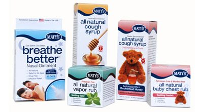 Maty's Natural Cold Remedies (Prize Pack Giveaway)