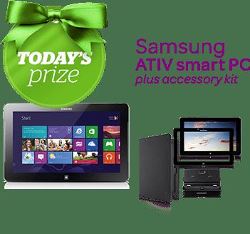 Enter to win a Samsung ATIV Smart PC #WishaDay