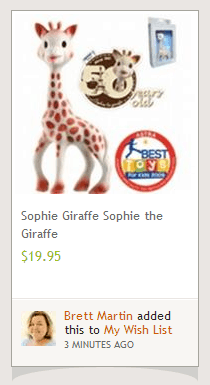 sophie the giraffe win your way sweepstakes