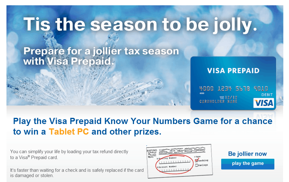 visa know your numbers game