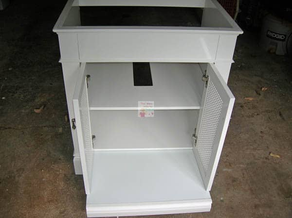 american standard portsmouth vanity open doors