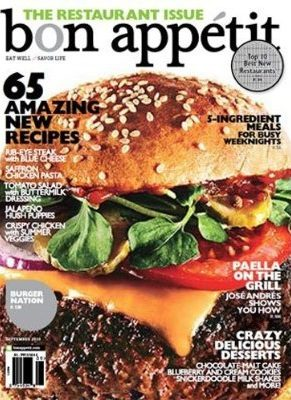 Bon Appetit Magazine Subscription only $4.99/year