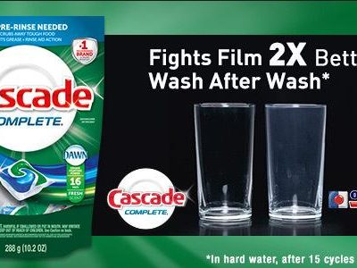 Cascade Complete Pacs help us get 2013 off to a fresh, clean start! #CascadeComplete