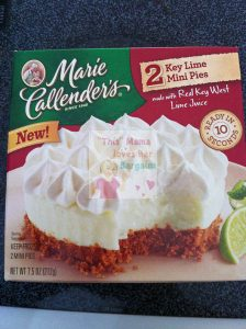 marie callenders key lime mini pie
