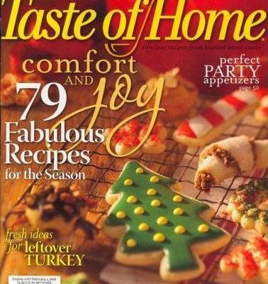 Taste of Home Magazine Subscription $3.99/year *Today Only*
