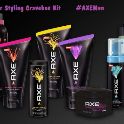 AXE Hair Styling Cravebox Kit (Giveaway) #AXEMen