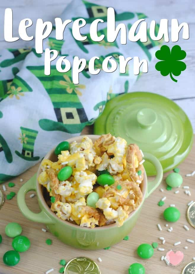 A key to a fun St. Patrick's Day is making sure that you incorporate green into your treats! Our Leprechaun Popcorn is a great treat for your St. Patrick's day celebrations...and easy too!