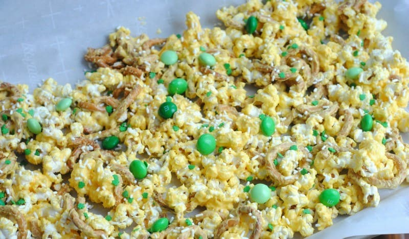 St. Patrick's Day Treats Leprechaun Popcorn