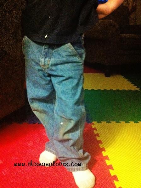 boys carhartt jeans front