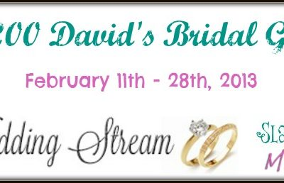 $200 David's Bridal Gift Card Giveaway
