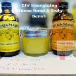 diy energizing citrus hand and body scrub