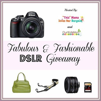 Bloggers Wanted- Come Join the Fabulous & Fashionable DSLR Giveaway!