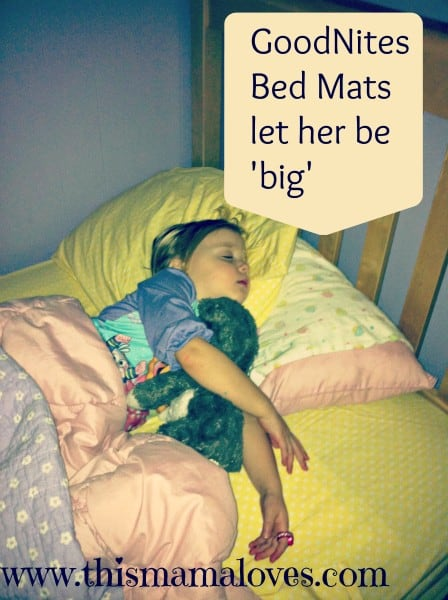 goodnites bed mats boost confidence