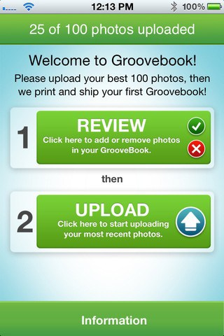 groovebook screenshot