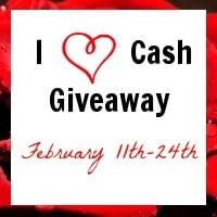 I Love Cash $600 Giveaway!