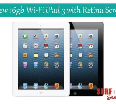 16gb Wi-Fi iPad with Retina Display Giveaway