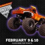 Advanced Auto Monster Jam family 4 pack ticket giveaway