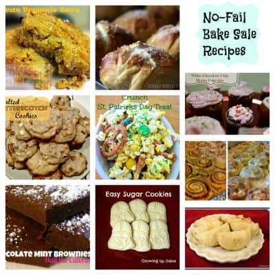 Sell out your Bake Sale with these bake sale recipe ideas!