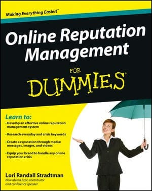Online Reputation Management for Dummies book review