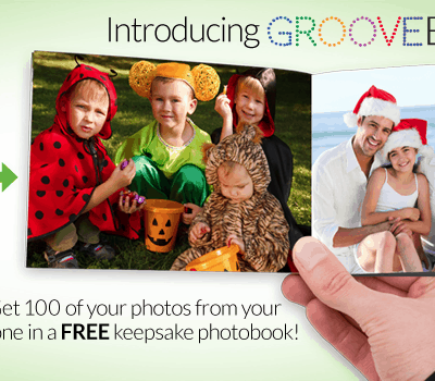Print the photos on your phone with Groovebook- for FREE!